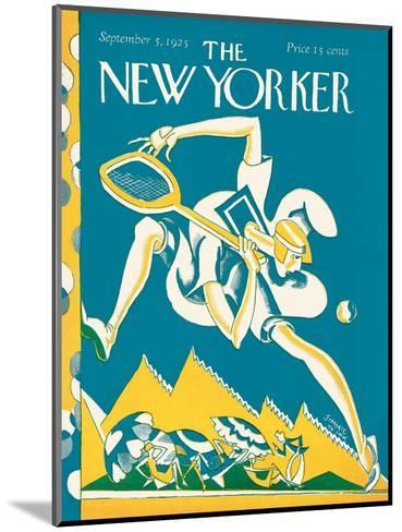 The New Yorker Cover - September 5, 1925-James Daugherty-Mounted Premium Giclee Print