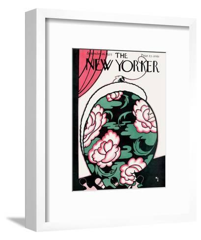The New Yorker Cover - September 26, 1925-Rea Irvin-Framed Art Print
