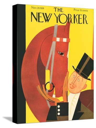 The New Yorker Cover - November 20, 1926-Andre De Schaub-Stretched Canvas Print