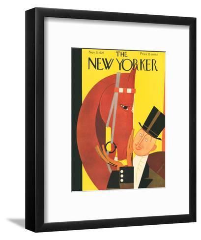 The New Yorker Cover - November 20, 1926-Andre De Schaub-Framed Art Print