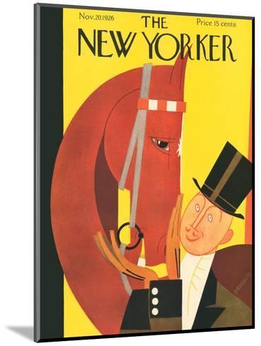 The New Yorker Cover - November 20, 1926-Andre De Schaub-Mounted Premium Giclee Print
