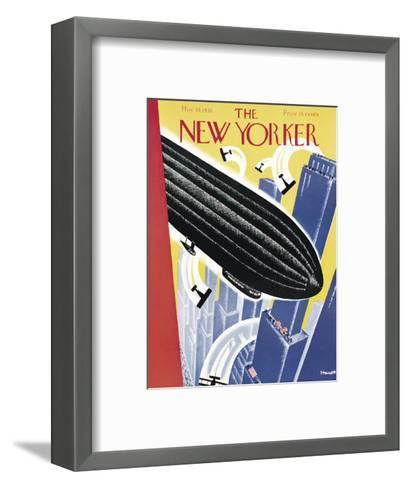 The New Yorker Cover - May 10, 1930-Theodore G. Haupt-Framed Art Print