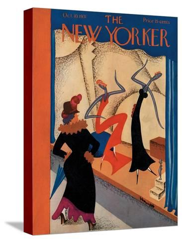 The New Yorker Cover - October 10, 1931-Theodore G. Haupt-Stretched Canvas Print