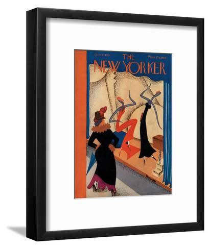 The New Yorker Cover - October 10, 1931-Theodore G. Haupt-Framed Art Print