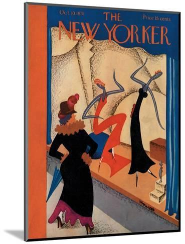 The New Yorker Cover - October 10, 1931-Theodore G. Haupt-Mounted Premium Giclee Print
