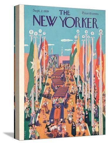 The New Yorker Cover - September 2, 1939-Ilonka Karasz-Stretched Canvas Print