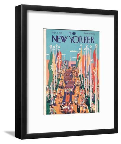 The New Yorker Cover - September 2, 1939-Ilonka Karasz-Framed Art Print