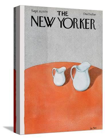 The New Yorker Cover - September 10, 1979-Pierre LeTan-Stretched Canvas Print