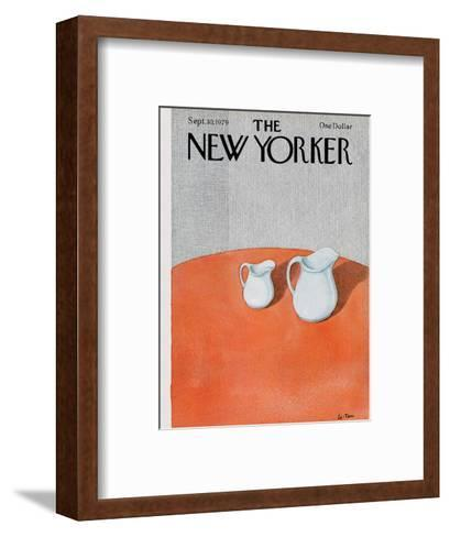 The New Yorker Cover - September 10, 1979-Pierre LeTan-Framed Art Print