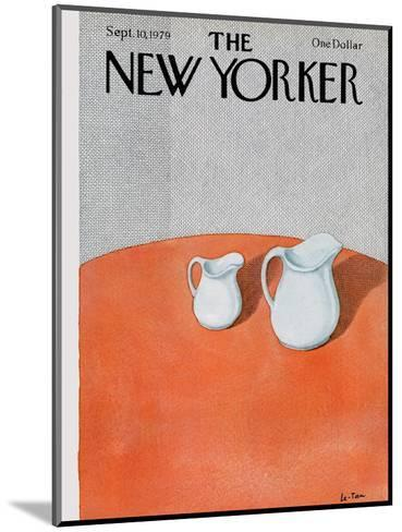 The New Yorker Cover - September 10, 1979-Pierre LeTan-Mounted Premium Giclee Print