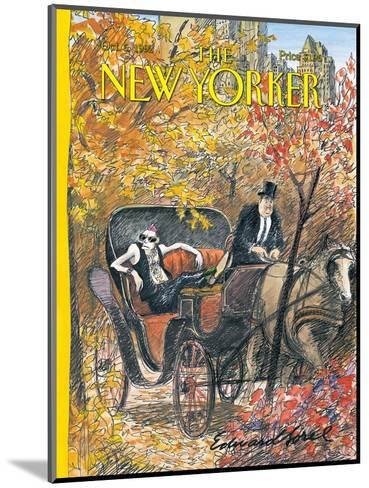 The New Yorker Cover - October 5, 1992-Edward Sorel-Mounted Premium Giclee Print