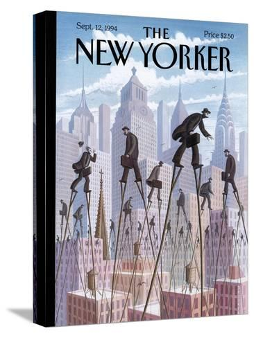 The New Yorker Cover - September 12, 1994-Eric Drooker-Stretched Canvas Print