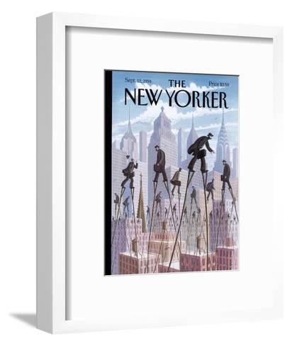 The New Yorker Cover - September 12, 1994-Eric Drooker-Framed Art Print
