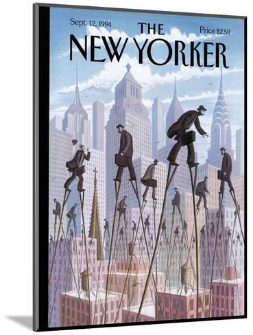 The New Yorker Cover - September 12, 1994-Eric Drooker-Mounted Premium Giclee Print
