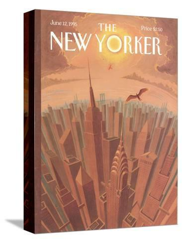 The New Yorker Cover - June 12, 1995-Eric Drooker-Stretched Canvas Print