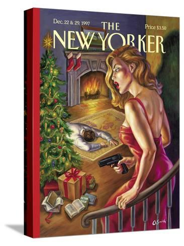 The New Yorker Cover - December 22, 1997-Owen Smith-Stretched Canvas Print