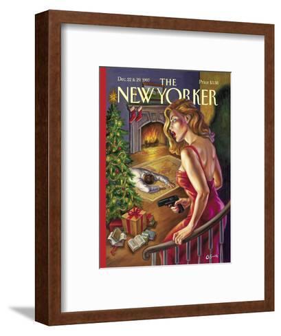The New Yorker Cover - December 22, 1997-Owen Smith-Framed Art Print