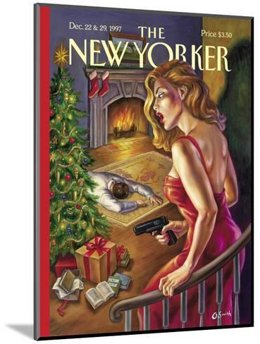 The New Yorker Cover - December 22, 1997-Owen Smith-Mounted Premium Giclee Print