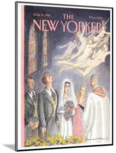 The New Yorker Cover - June 15, 1998-Edward Sorel-Mounted Premium Giclee Print