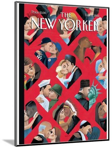 The New Yorker Cover - February 14, 2000-Mark Ulriksen-Mounted Premium Giclee Print