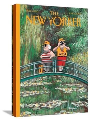 The New Yorker Cover - June 5, 2000-Ian Falconer-Stretched Canvas Print