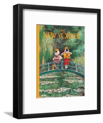 The New Yorker Cover - June 5, 2000-Ian Falconer-Framed Art Print