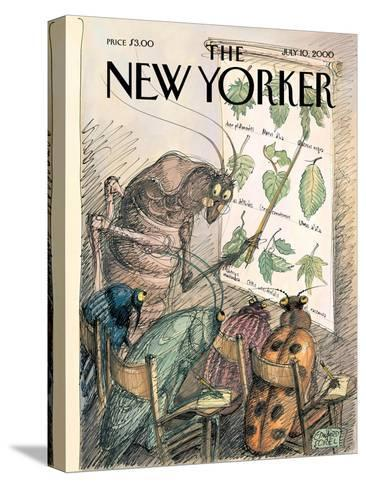The New Yorker Cover - July 10, 2000-Edward Sorel-Stretched Canvas Print