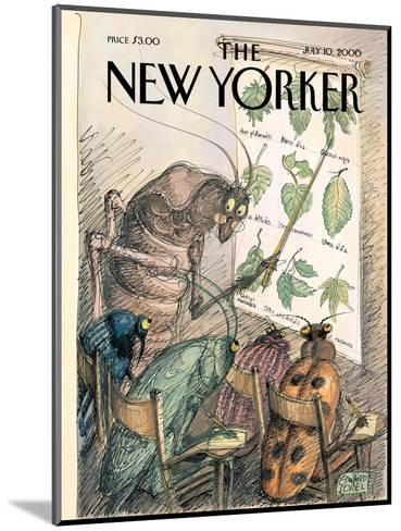The New Yorker Cover - July 10, 2000-Edward Sorel-Mounted Premium Giclee Print