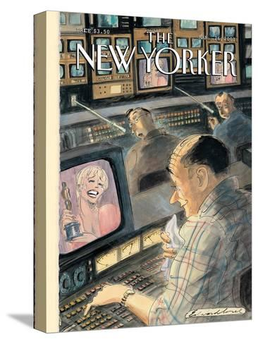 The New Yorker Cover - March 26, 2001-Edward Sorel-Stretched Canvas Print
