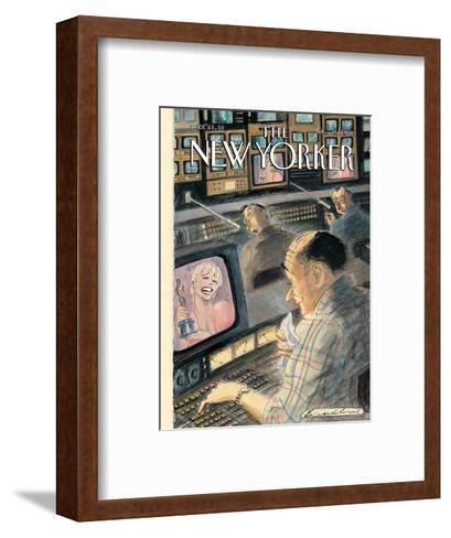 The New Yorker Cover - March 26, 2001-Edward Sorel-Framed Art Print