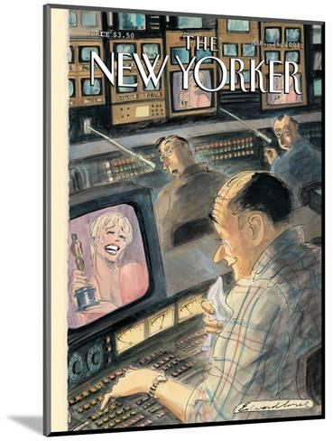 The New Yorker Cover - March 26, 2001-Edward Sorel-Mounted Premium Giclee Print