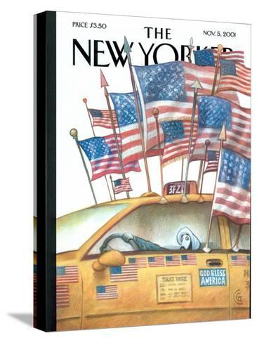 The New Yorker Cover - November 5, 2001-Carter Goodrich-Stretched Canvas Print