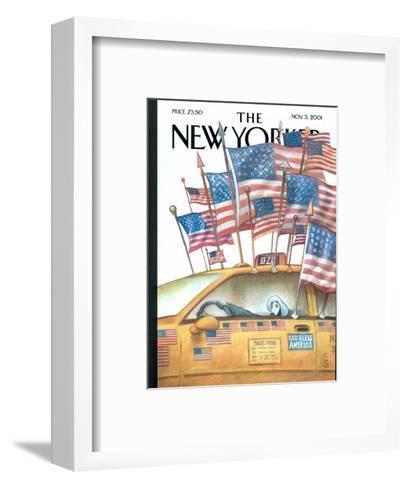 The New Yorker Cover - November 5, 2001-Carter Goodrich-Framed Art Print