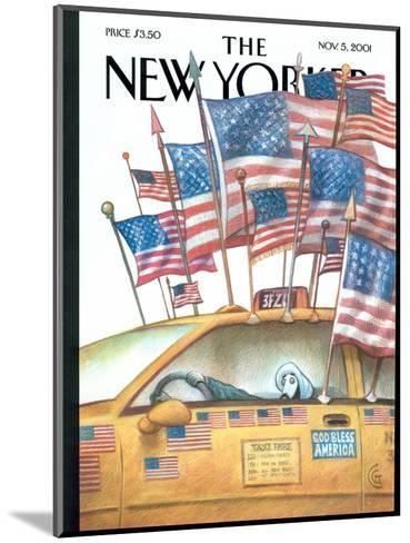 The New Yorker Cover - November 5, 2001-Carter Goodrich-Mounted Premium Giclee Print
