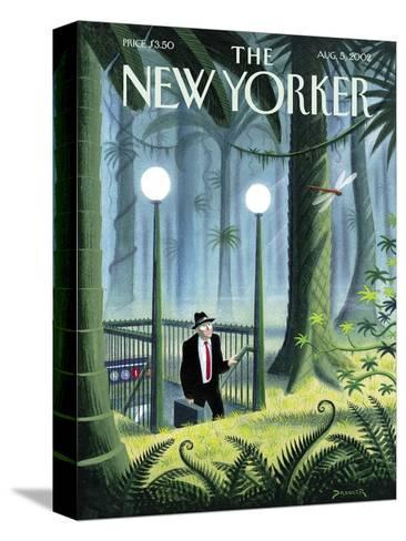The New Yorker Cover - August 5, 2002-Eric Drooker-Stretched Canvas Print