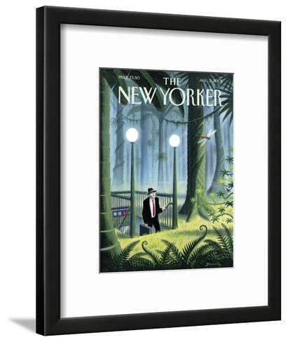 The New Yorker Cover - August 5, 2002-Eric Drooker-Framed Art Print
