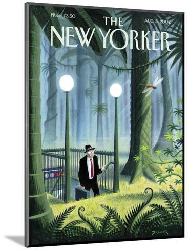 The New Yorker Cover - August 5, 2002-Eric Drooker-Mounted Premium Giclee Print
