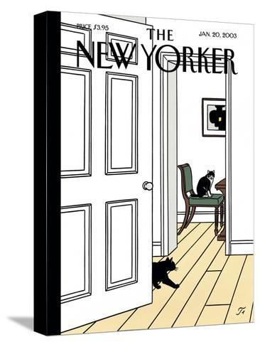 The New Yorker Cover - January 20, 2003-Jean Claude Floc'h-Stretched Canvas Print