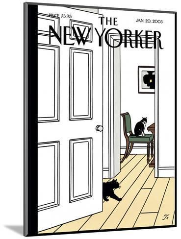 The New Yorker Cover - January 20, 2003-Jean Claude Floc'h-Mounted Premium Giclee Print