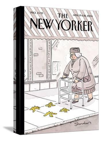 The New Yorker Cover - April 19, 2004-Danny Shanahan-Stretched Canvas Print