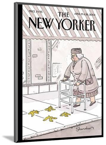 The New Yorker Cover - April 19, 2004-Danny Shanahan-Mounted Premium Giclee Print
