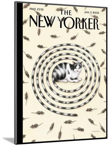 The New Yorker Cover - January 3, 2005-G?rb?z Dogan Eksioglu-Mounted Premium Giclee Print