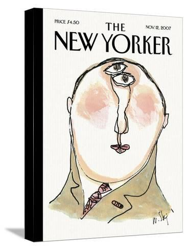 The New Yorker Cover - November 12, 2007-William Steig-Stretched Canvas Print