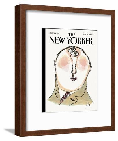 The New Yorker Cover - November 12, 2007-William Steig-Framed Art Print