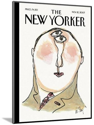 The New Yorker Cover - November 12, 2007-William Steig-Mounted Premium Giclee Print