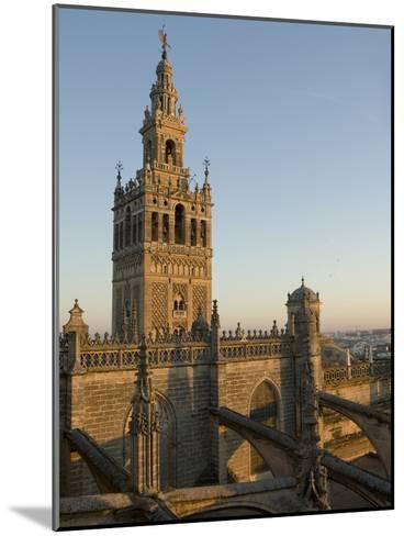View of the Giralda Tower and the Rooftop of the Cathedral of Seville-Krista Rossow-Mounted Photographic Print