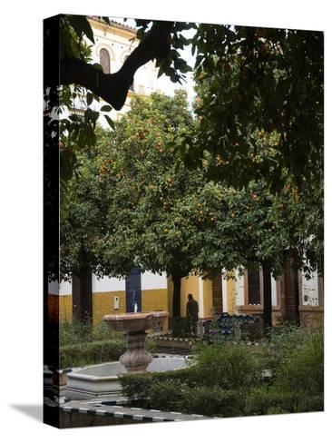 Early Morning in the Barrio De Santa Cruz, Seville, Andalusia, Spain-Krista Rossow-Stretched Canvas Print