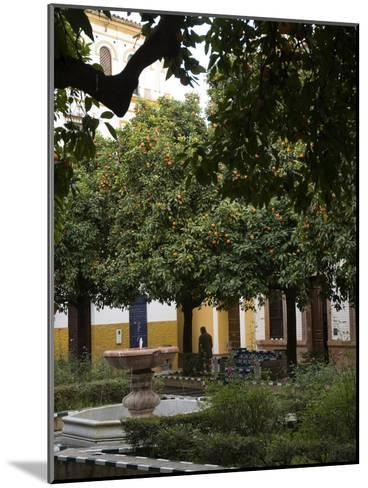 Early Morning in the Barrio De Santa Cruz, Seville, Andalusia, Spain-Krista Rossow-Mounted Photographic Print