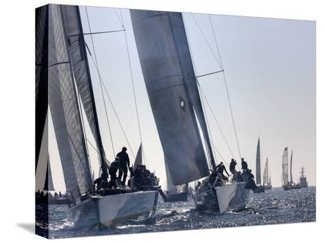 An International Yachting Race Near Victoria, British Columbia-Pete Ryan-Stretched Canvas Print