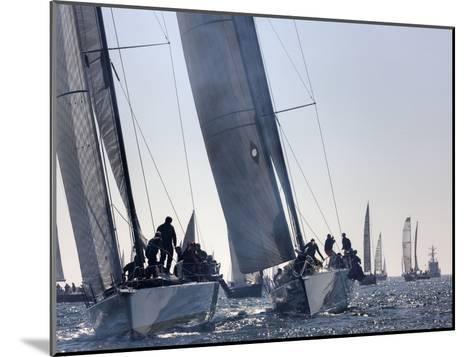 An International Yachting Race Near Victoria, British Columbia-Pete Ryan-Mounted Photographic Print